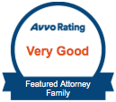 Avvo Rating - Very Good - Featured Attorney - Family